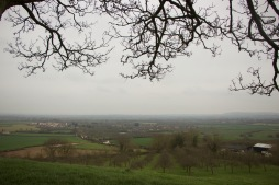 View from Somerset Burrow HIll